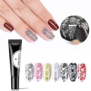 Nail Stamping Gel Polish for Nail Stapmer