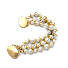 Load image into Gallery viewer, Tiana Simulated Pearl Bracelet