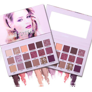 UCANBE Nude Aromas Palette 18 Colors Eyeshadow