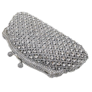 Rhinestone Crystal Designer Party Purse