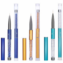 Load image into Gallery viewer, Nail Art Liner Brushes 3 Pcs Set