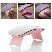 Load image into Gallery viewer, LED 6W UV USB Nail Lamp with Timer
