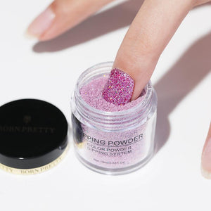 Nail Dipping Powder Holographic Set 2 Pcs x 30ml
