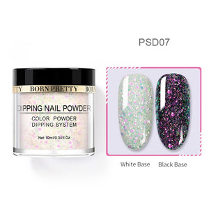 Nail Dipping Powder Holographic Flakes 10 ml
