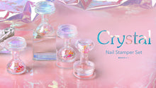Load image into Gallery viewer, Translucent Crystal Nail Stamper Art Set