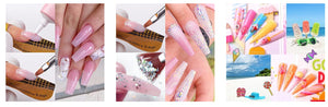 Acrylic Nails Poly Gel Extension 11 Pcs Kit