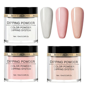 Nail Dipping Powder Kit 3 Pcs Set