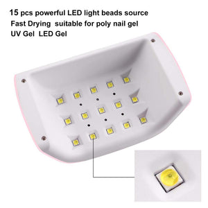 LED 18W UV Nail Lamp with Timer
