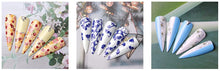 Load image into Gallery viewer, Nail Art Foil Stickers with Mini Led Lamp 11 Pcs Set