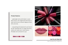 Load image into Gallery viewer, UCANBE Moisturizing Shimmer Lipstick