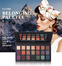 Load image into Gallery viewer, UCANBE Belonging 21 Colors Glitter Matte Eyeshadow