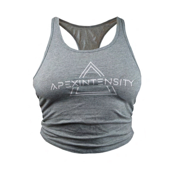 Apexintensity Legacy Grey Crop Top