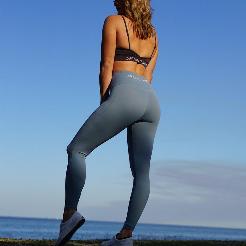 Shark Blue Revival Leggings