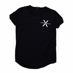 Black Alpha Scoop Tee