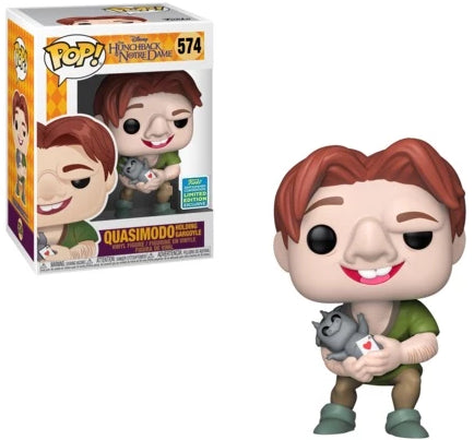 Pop! Disney- Quasimodo [ Holding Gargoyle ] (Summer Comic Convention 2019)