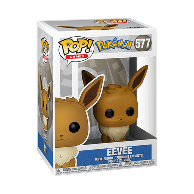 Pop! Games- Pokémon Eevee - TantrumCollectibles.com