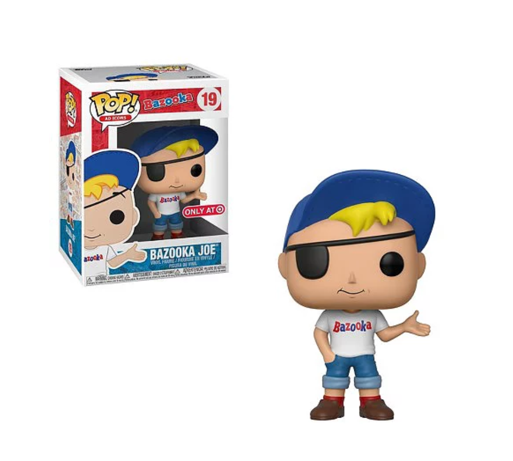 Pop! Ad Icon - Bazooka Joe (Target)