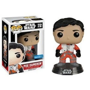Pop! Poe Dameron- No Helmet (Walmart)