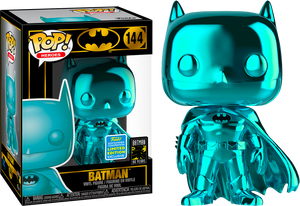 Pop! Heroes- Batman [ Teal Chrome ] (Summer Comic Convention 2019) - TantrumCollectibles.com