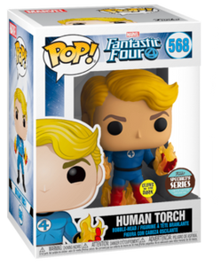 Specialty Series Pop Marvel: Fantastic Four - Human Torch (Suited) - TantrumCollectibles.com