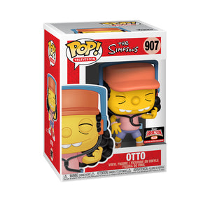 Pop! The Simpsons Otto Mann (Funko! Target Con 2021)- (Limited Edition Exclusive)