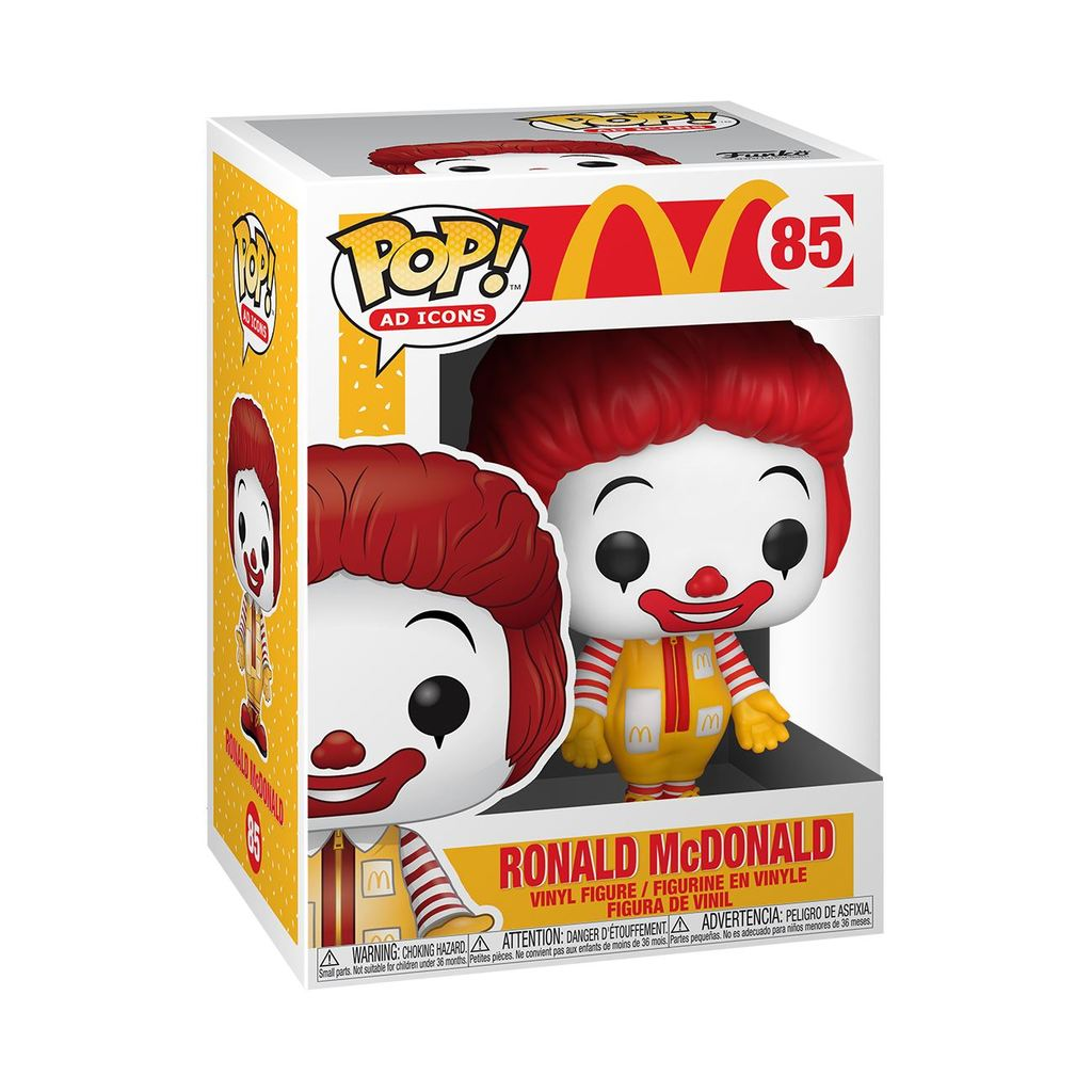 POP! Ad Icons-Ronald McDonald - TantrumCollectibles.com