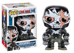 Pop! Civil War- Crossbones- Battle Damage (Target) - TantrumCollectibles.com