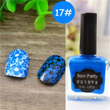 BORN PRETTY 15ml/6ml Pure Nail Colors Nail Art Stamping Polish Sweet Style Nail Stamping Polish 72 Colors Available Nail Polish