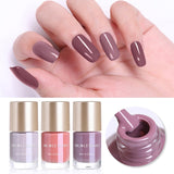 NICOLE DIARY 9ml Nail Polish  Series Varnish Polish Quick Dry Eco-friendly Nail Art Lacquer 6 Colors