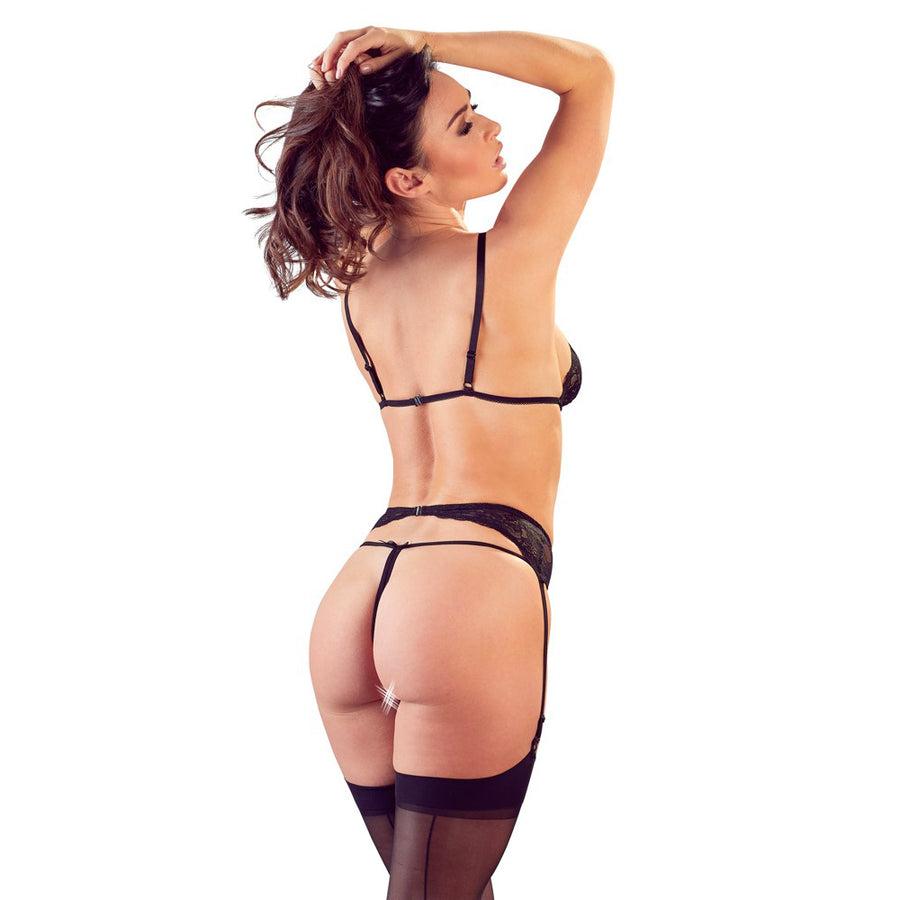 Cottelli Suspender Open Set