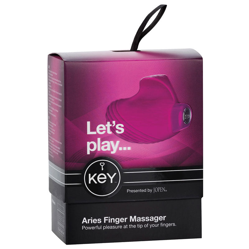 Jopen Key Aries Vibrating Finger Massager