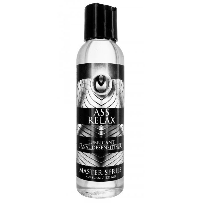 Master Series Ass Relax Desensitizing Lubricant 4.25 oz