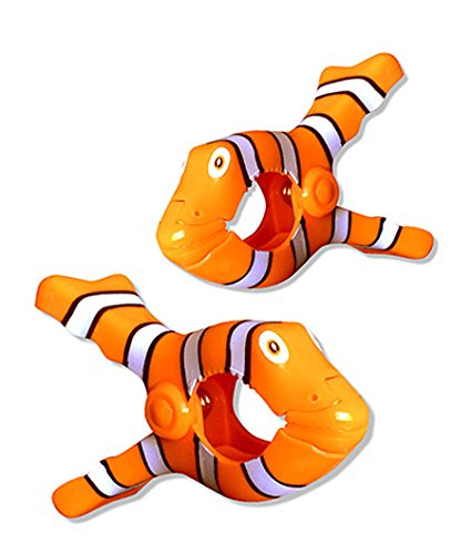 Clown Fish Boca Clips