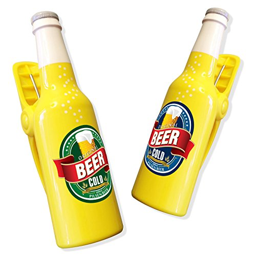 Beer Bottle Boca Clips