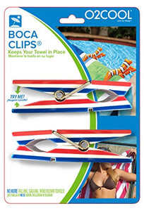 Patriotic Clothes Pin Boca Clips