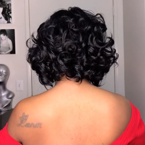 2019 Super Natural Bobbi Boss Lovely Curly Hair Wig