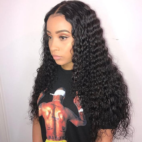 Glue-Free Deep-Rolled Lace Front Wig