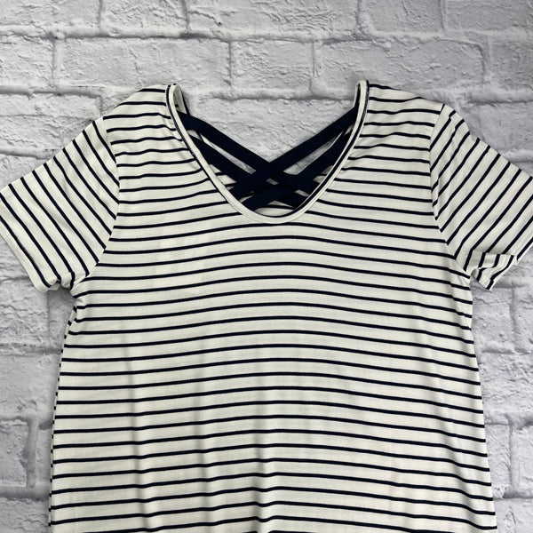 Beverly Striped Rayon Top