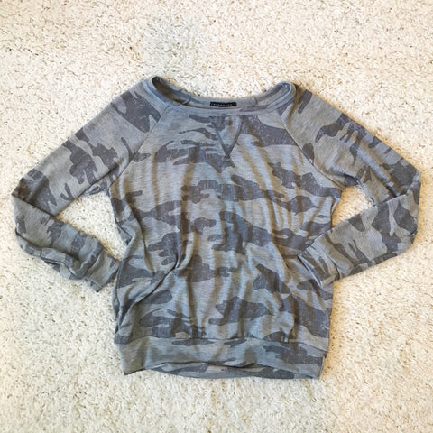 Kaelyn Camo Sweatshirt