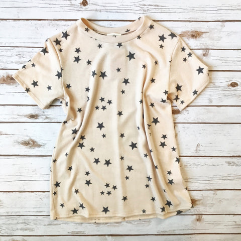 Star Print Shirt *FINAL SALE* - Why Not Boutique