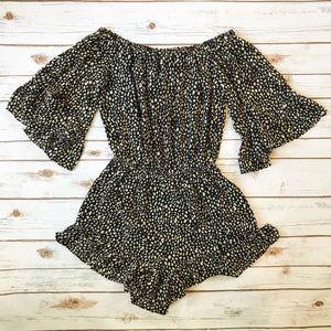 The Dot Romper - Why Not Boutique