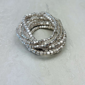 Multi Layer Cubed Beaded Bracelet