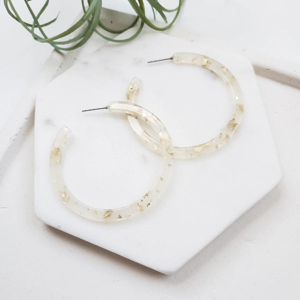 Cameron Hoop Earrings