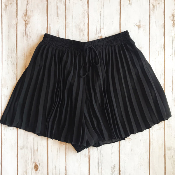 Pleated Shorts - Why Not Boutique