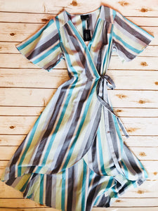 Orna Wrap Dress - Why Not Boutique