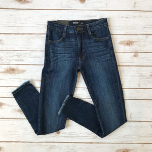 Clean Frayed Skinny  BP19J - Why Not Boutique
