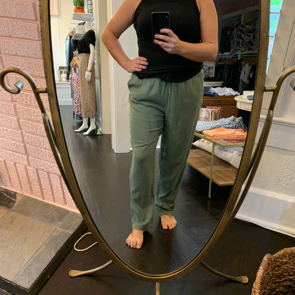 Claudia Woven Pant - Why Not Boutique