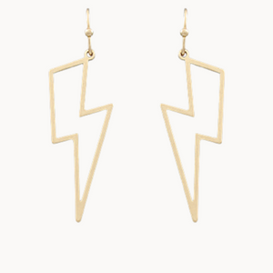 Lightning Frame Earrings