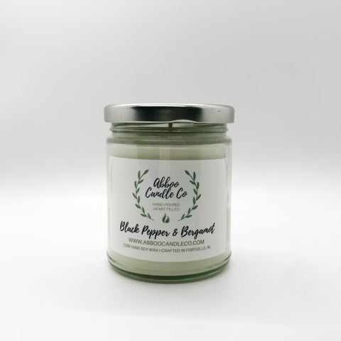 9 oz Soy Candle 40-50 burn hours - Why Not Boutique