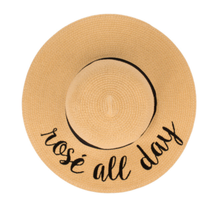 C.C. Wide Brim Floppy Hat - Why Not Boutique Tampa